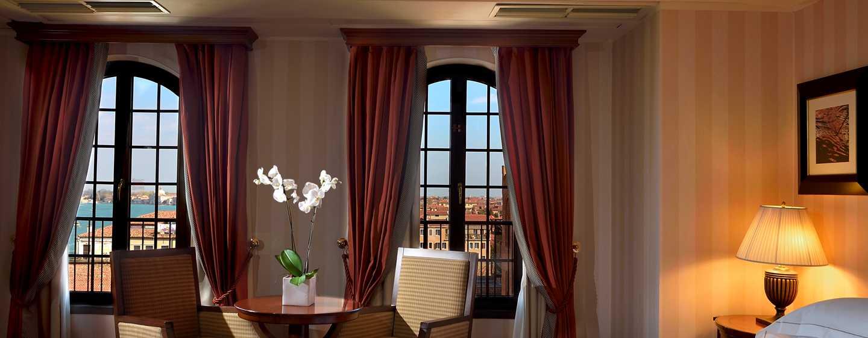 Hilton Molino Stucky Venice Hotel, Italien– Deluxe Zimmer mit Ausblick