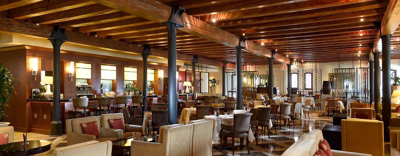 """Hilton Molino Stucky Venice Hotel, Italien– Lobby-Bar und Lounge """"Rialto"""""""