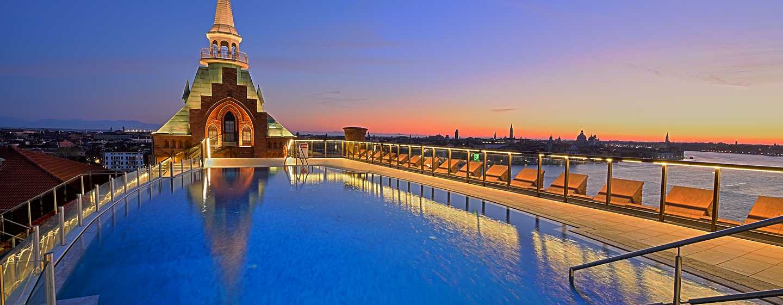 Hilton Molino Stucky Venice Hotel, Italien– Dachswimmingpool
