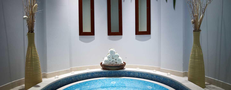 Hilton Molino Stucky Venice Hotel, Italien– Whirlpool des Eforea Spa