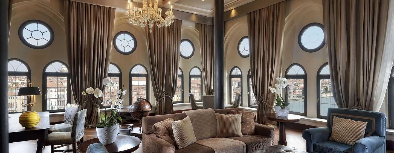 Hilton Molino Stucky Venice Hotel, Italien– Präsidenten Suite