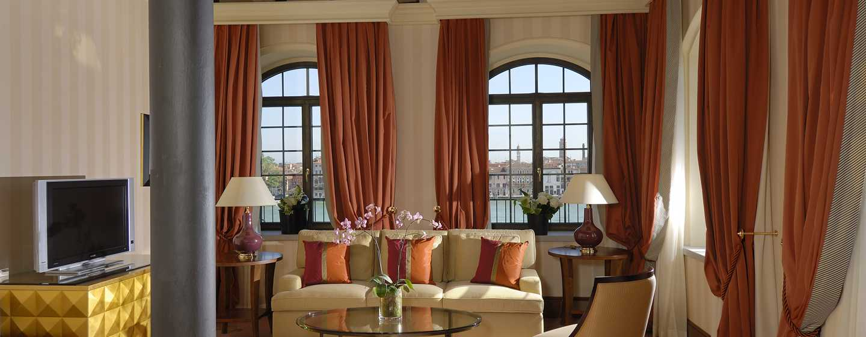Hilton Molino Stucky Venice Hotel, Italien– Tower Suite