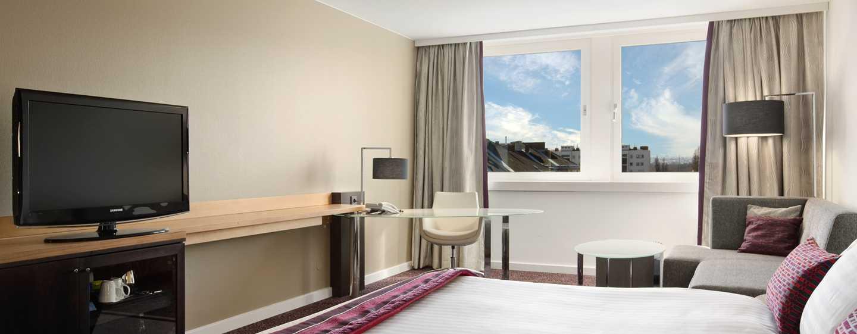 Hilton Vienna Danube Waterfront Hotel, Österreich – KING GÄSTEZIMMER