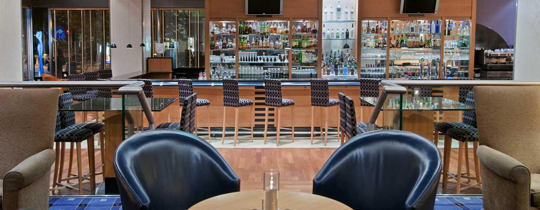 Hilton Vienna Hotel, Wien, Österreich– Lobby-Bar und Lounge