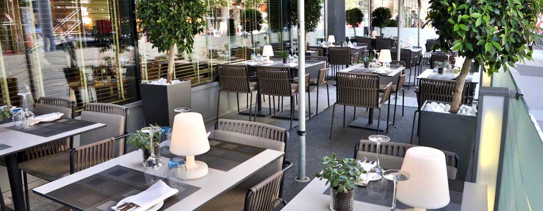 Hilton Vienna Hotel, Wien, Österreich– S'PARKS RESTAURANT TERRASSE