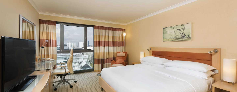 Hilton Vienna Hotel, Wien, Österreich– Executive Zimmer mit King-Size-Bett