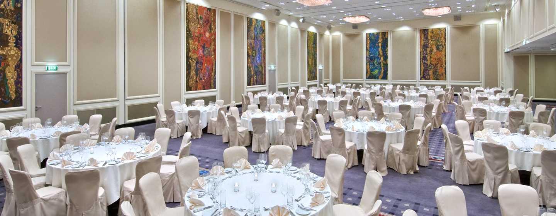 Hilton Vienna Hotel, Wien, Österreich– Ballsaal