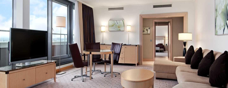 Hilton Vienna Hotel, Wien, Österreich– Penthouse Suite