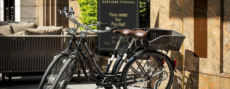 Hilton Vienna Plaza, Österreich – Retro-Fahrradverleih