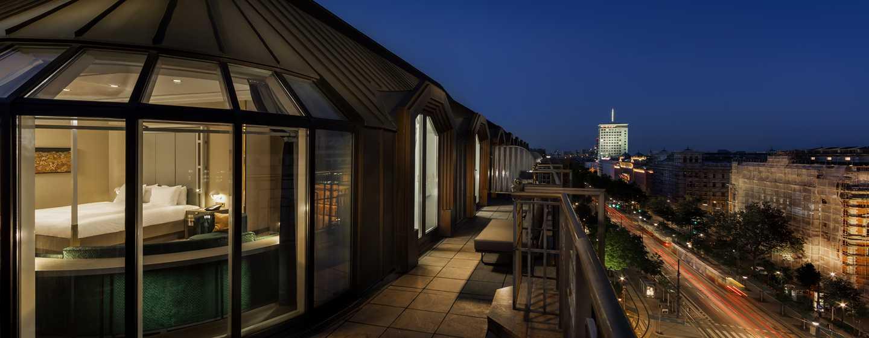 Hilton Vienna Plaza, Österreich – Penthouse Royal Suite