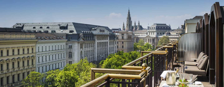 Hilton Vienna Plaza, Österreich – Penthouse Präsidenten-Suite
