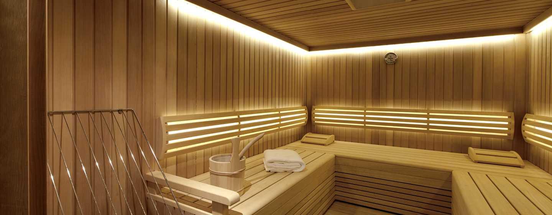 Hilton Vienna Plaza, Österreich – Sauna