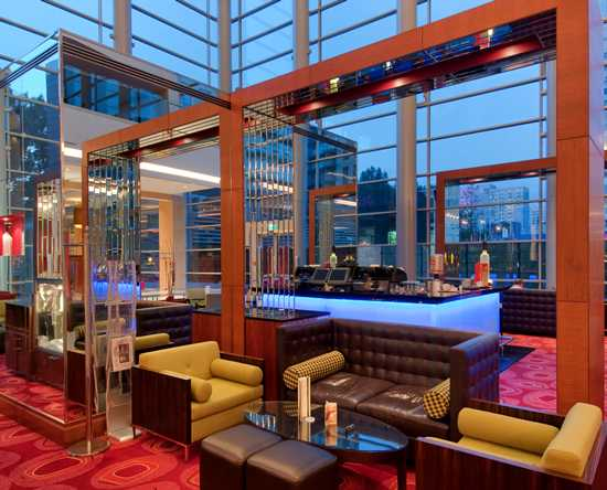 Hilton Warsaw Hotel and Convention Centre Hotel – Lobby-Bar und Lounge Pistaccio