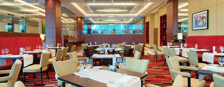 Hilton Warsaw Hotel and Convention Centre, Polen– Restaurant Meza