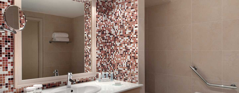 Hilton Evian-les-Bains Hotel, Frankreich– Badezimmer