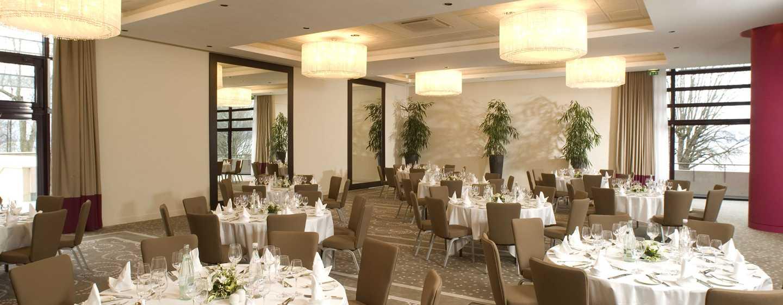 Hilton Evian-les-Bains Hotel, Frankreich– Bankett