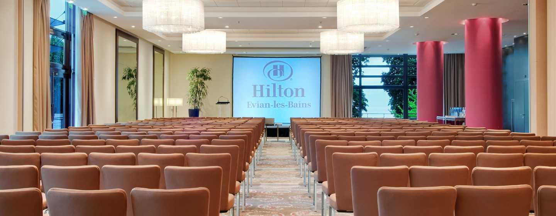 Hilton Evian-les-Bains Hotel, Frankreich– Besprechungsraum