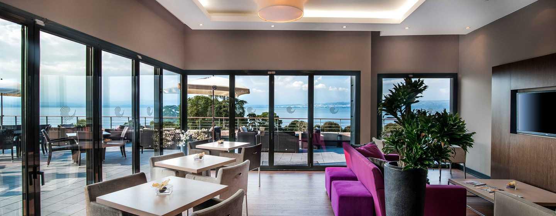 Hilton Evian-les-Bains Hotel, Frankreich– Executive Lounge