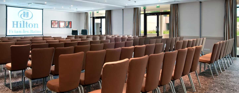 Hilton Evian-les-Bains Hotel, Frankreich– Meetingraum