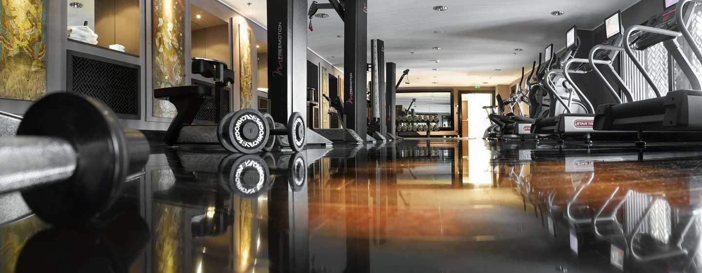 Hilton Evian-les-Bains Hotel, Frankreich– Fitnesscenter