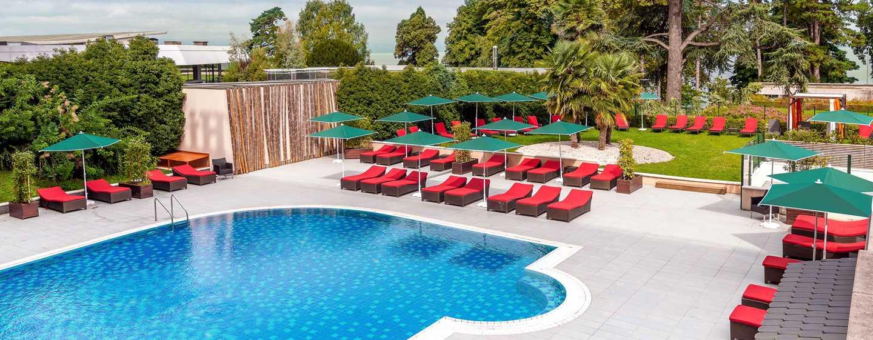 Hilton Evian-les-Bains Hotel, Frankreich– Außenpool