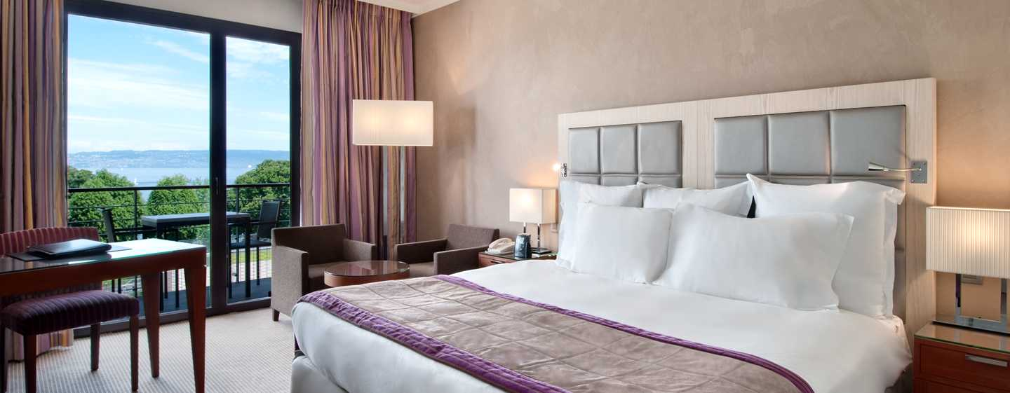 Hilton Evian-les-Bains Hotel – Executive Zimmer mit King-Size-Bett