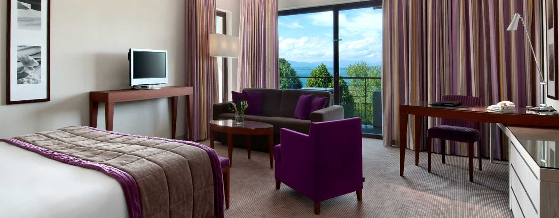 Hilton Evian-les-Bains Hotel– Superior Suite mit King-Size-Bett