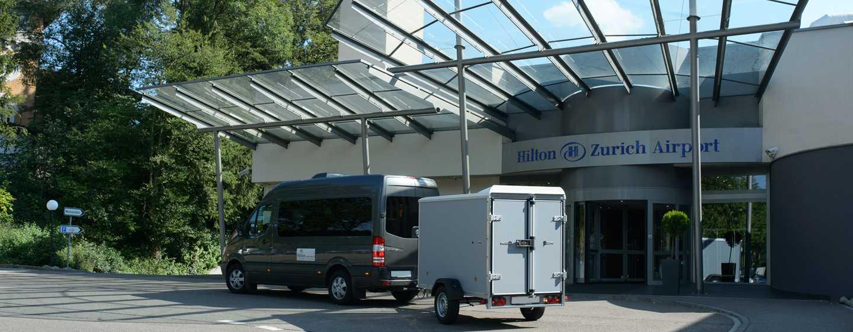 Hilton Zurich Airport Hotel, Schweiz– Shuttlebus
