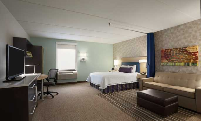 Home2 Suites by Hilton Philadelphia – Convention Center, Pennsylvania, USA – Barrierefreie Suite mit Queen-Size-Bett