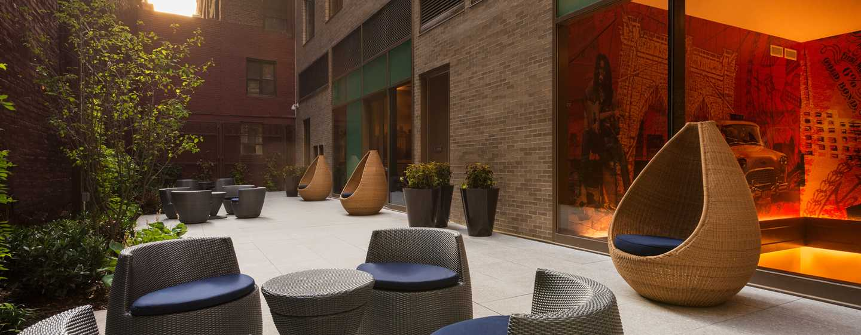 Homewood Suites by Hilton New York/Midtown Manhattan Times Square-South, NY, hotel  - Eventfläche auf der Dachterrasse