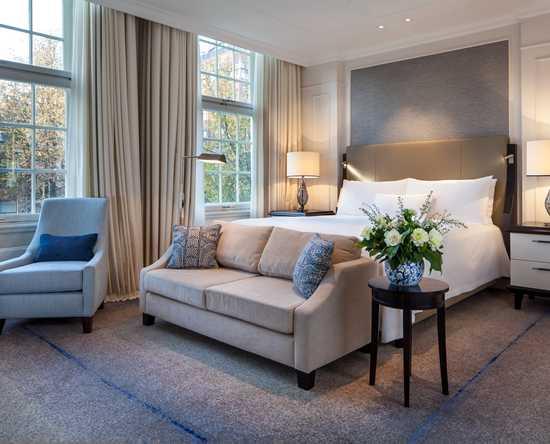 luxuszimmer und suiten – waldorf astoria amsterdam hotel, Wohnzimmer