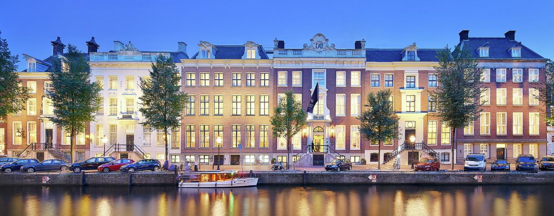 Waldorf Astoria Amsterdam Hotel– Außenbereich des Hotels