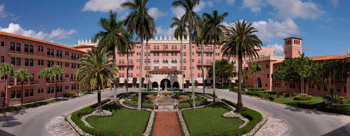 Boca Raton Resort & Club, A Waldorf Astoria Resort, Florida, USA – Außenbereich des Hotels