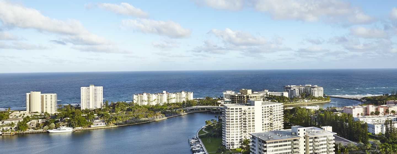 Boca Raton Resort & Club, A Waldorf Astoria Resort, Florida, USA– Luftansicht