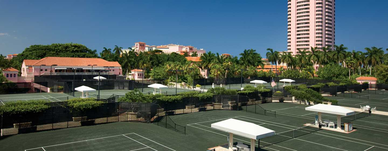 Boca Raton Resort & Club, A Waldorf Astoria Resort, Florida, USA– Tennisplätze