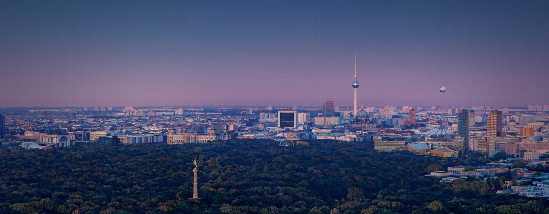 Vom Hotel können Sie den bezaubernden Blick auf die Hauptstadt genießen