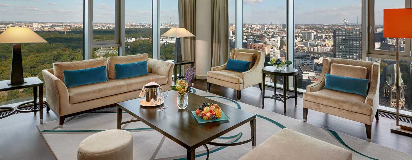 Waldorf Astoria Berlin hotel - Tower Suite