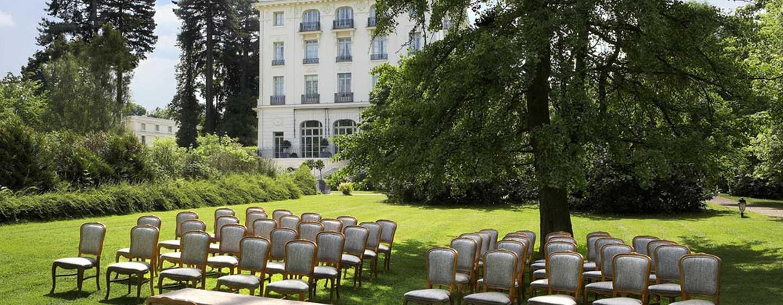 Waldorf Astoria Trianon Palace Versailles, Frankreich– Hochzeitsbestuhlung