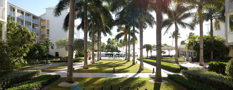 The Reach, a Waldorf Astoria Resort Hotel, Florida, USA - Begrünter Innenhof