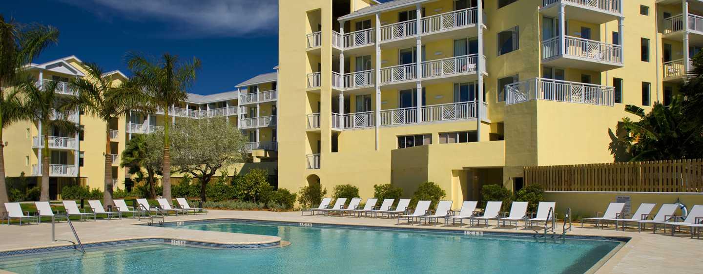The Reach, a Waldorf Astoria Resort Hotel, Florida, USA - Außenansicht des Hotels