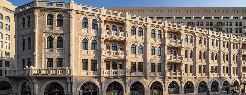 Waldorf Astoria Jerusalem Hotel, Israel – Außenansicht