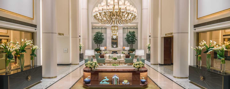 Waldorf Astoria Beverly Hills, Kalifornien, USA– Hotellobby
