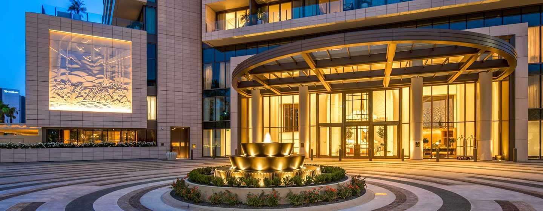 Waldorf Astoria Beverly Hills, Kalifornien, USA– WABH– Porte-Cochere