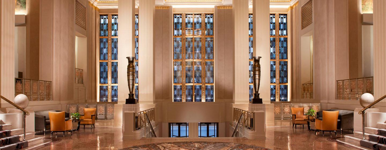 Das Waldorf Astoria New York Funf Sterne Luxushotel