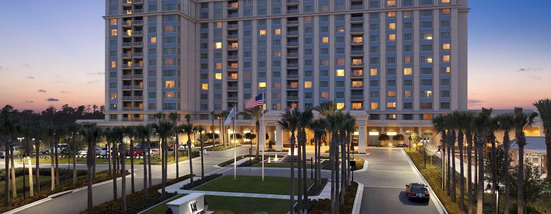 Waldorf Astoria Orlando Hotel, Florida, USA– Außenbereich des Hotels