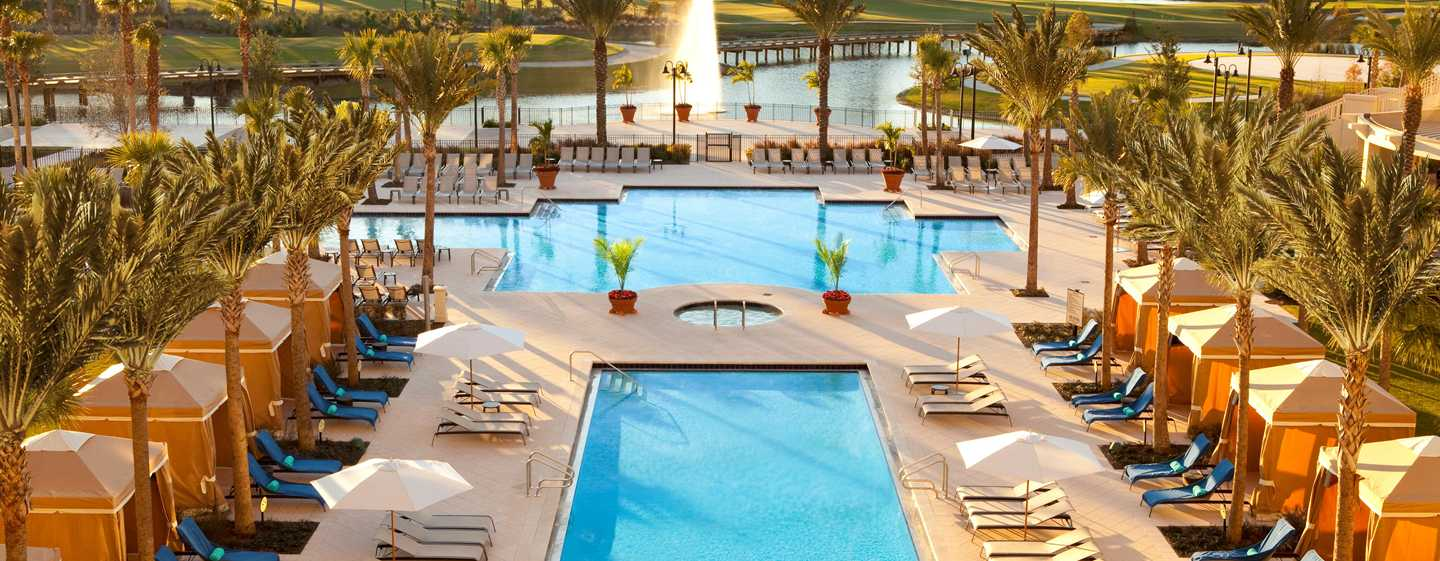 Waldorf Astoria Orlando Hotel, Florida, USA – Resort-Swimmingpool