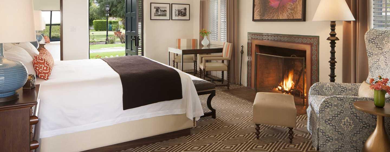 La Quinta Resort& Club, A Waldorf Astoria Resort, Kalifornien, USA– Schlafzimmer einer Casita