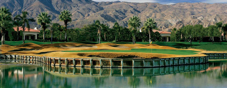La Quinta Resort& Club, A Waldorf Astoria Resort, Kalifornien, USA– Jack Nicklaus Turniergolfplatz des Golfclubs PGA West