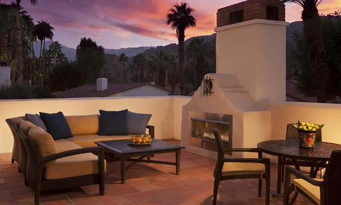 La Quinta Resort & Club, A Waldorf Astoria Resort, Kalifornien, USA – Terrasse einer Starlight Casita