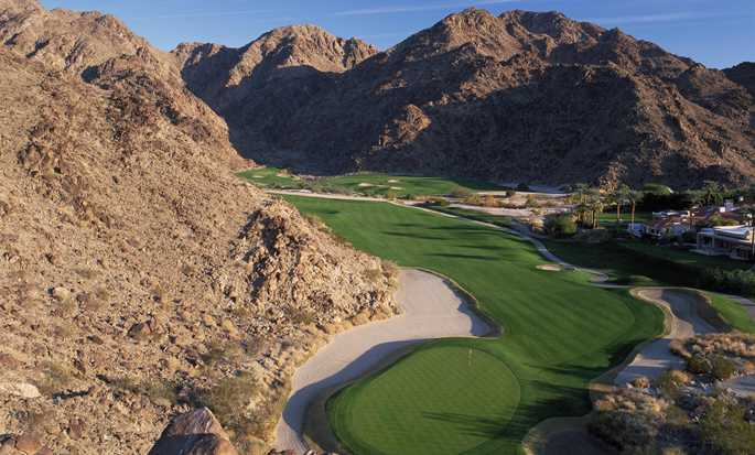 La Quinta Resort & Club, A Waldorf Astoria Resort, Kalifornien, USA – Golfplatz am Fuße der Berge